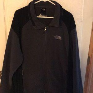 North Face fleece jacket full zip
